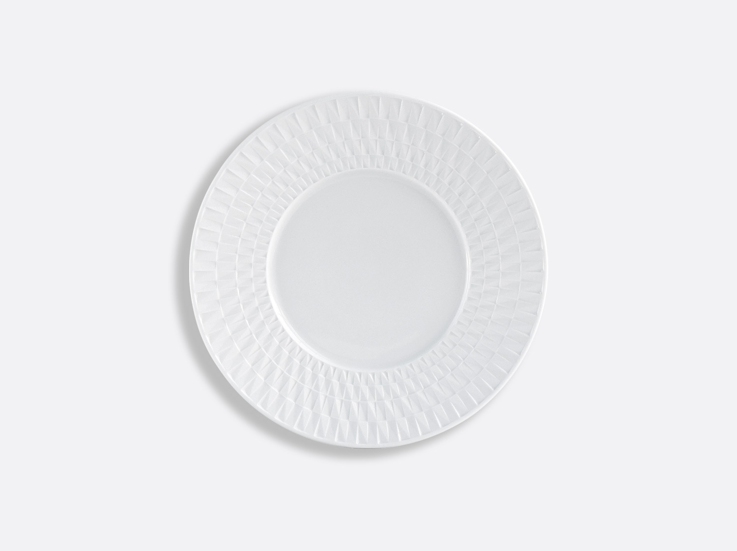 Assiette à pain 16 cm en porcelaine de la collection Twist Bernardaud