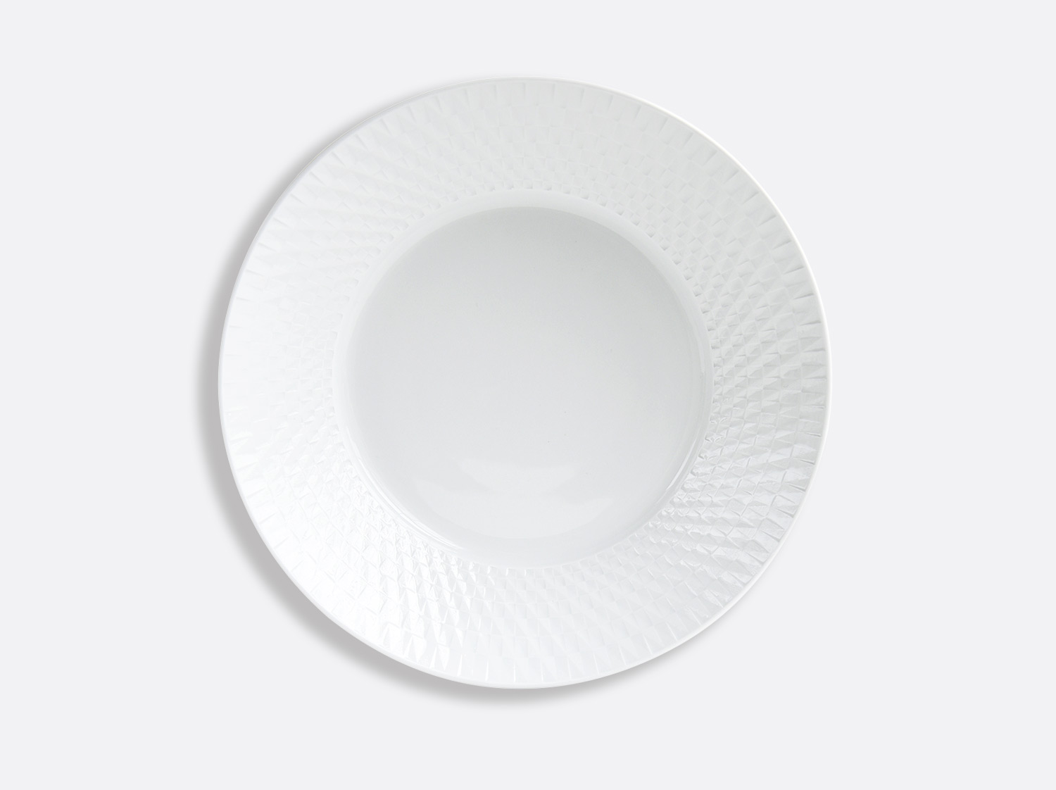 Compotier creux 24,5 cm 80 cl en porcelaine de la collection Twist Bernardaud