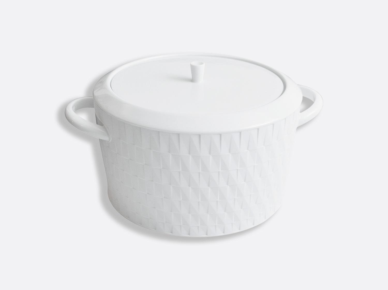 Soupière en porcelaine de la collection Twist Bernardaud