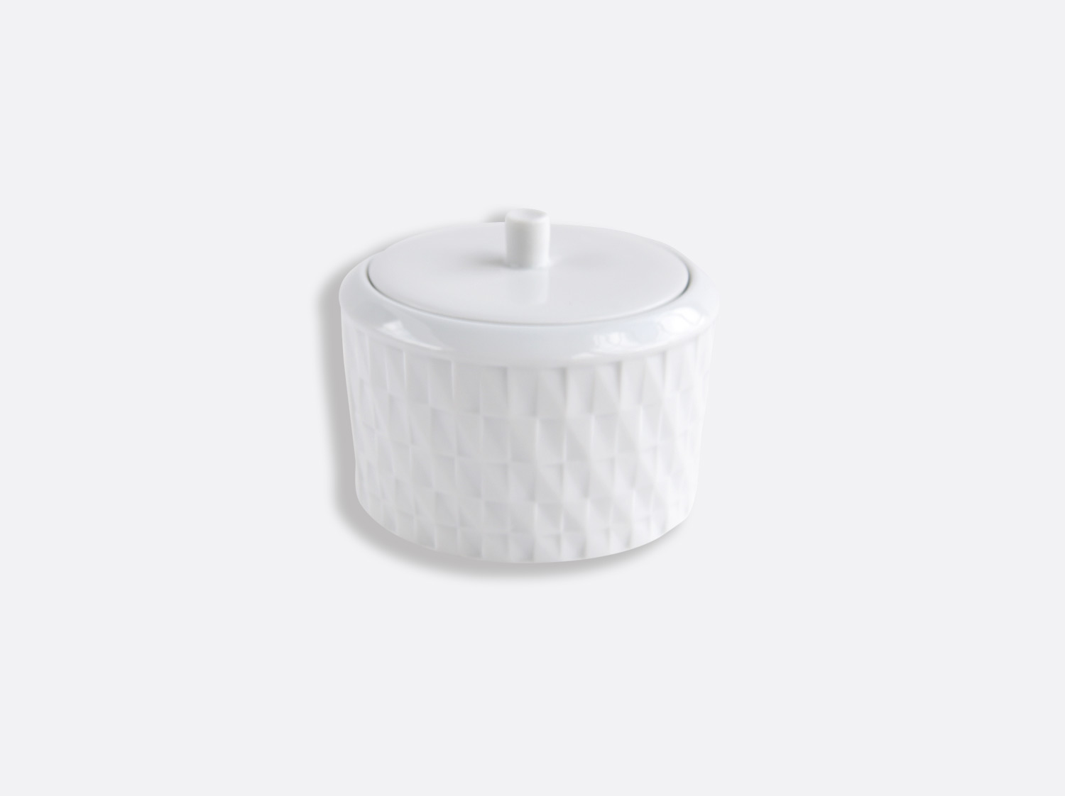 Sucrier 15 cl en porcelaine de la collection Twist Bernardaud
