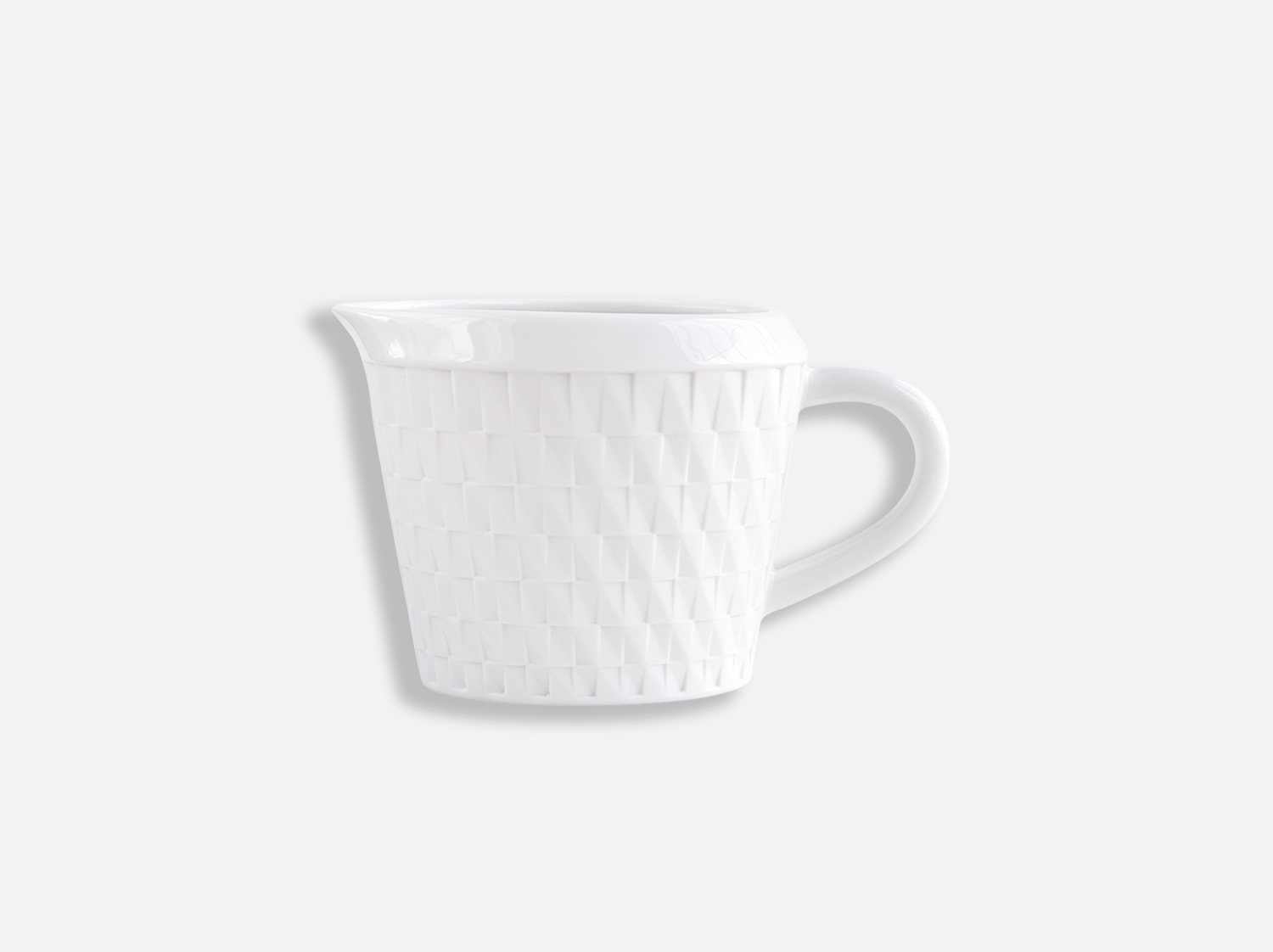 Crémier en porcelaine de la collection Twist Bernardaud