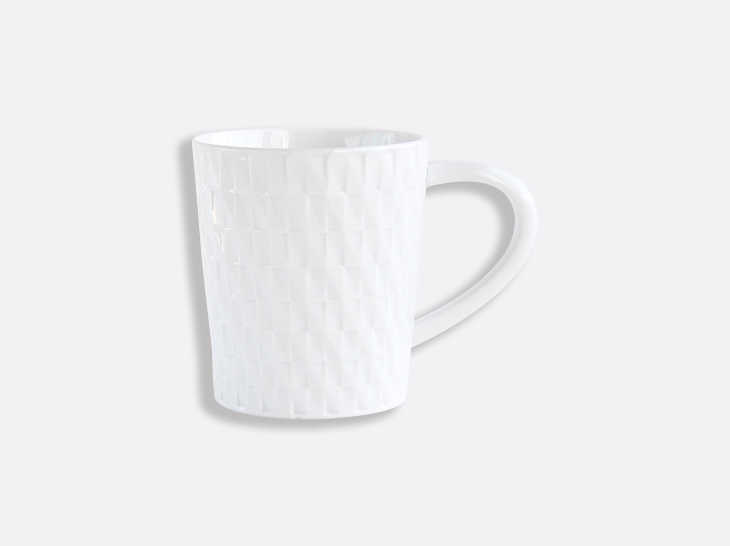 Mug 25 cl en porcelaine de la collection Twist Bernardaud