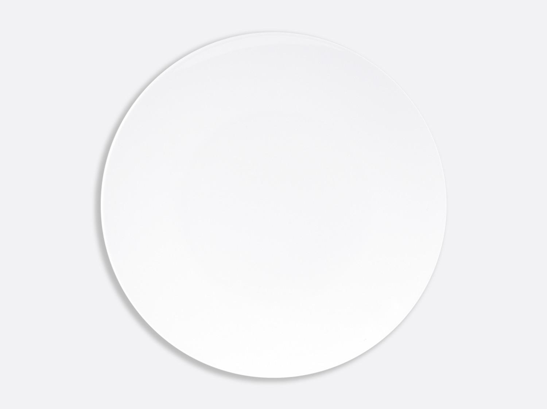 Assiette ultra plate 31 cm en porcelaine de la collection DOMUS BLANC Bernardaud