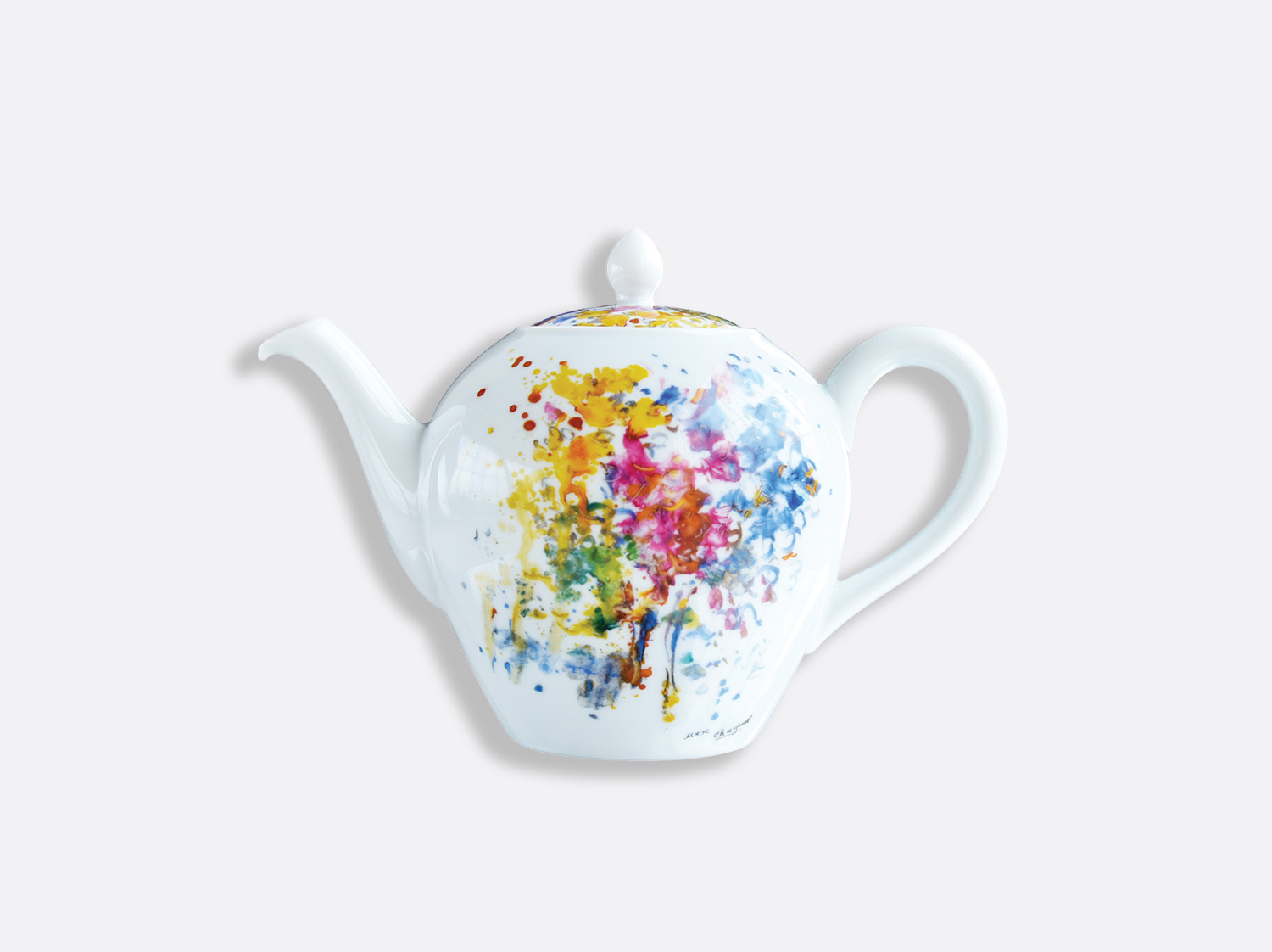 China Tea pot 12 cups 1,25 L of the collection LES BOUQUETS DE FLEURS DE  MARC CHAGALL | Bernardaud