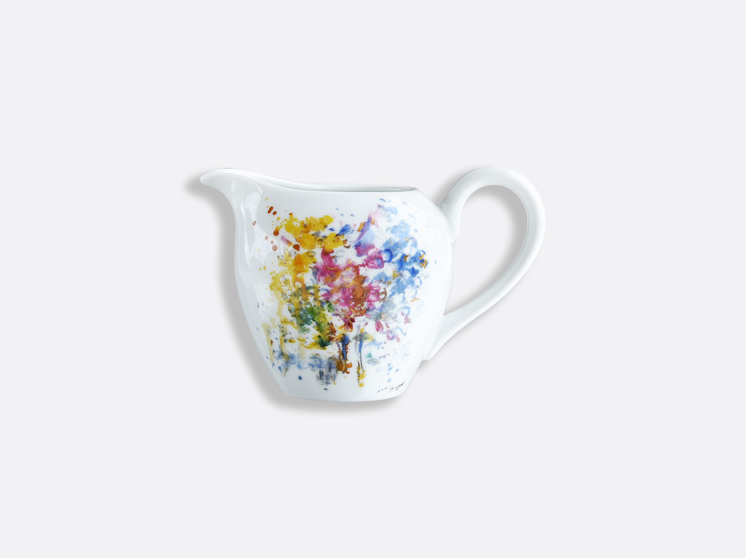 China クリーマー 300ml of the collection LES BOUQUETS DE FLEURS DE  MARC CHAGALL | Bernardaud