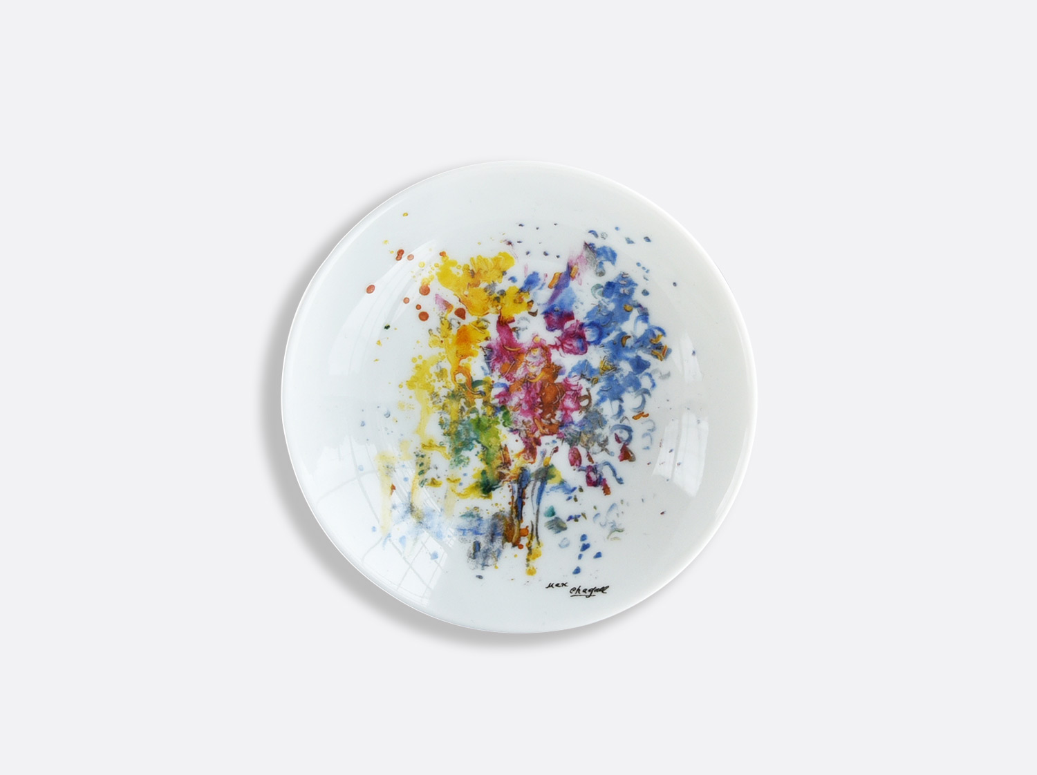 Coupelle 10 cm en porcelaine de la collection LES BOUQUETS DE FLEURS DE  MARC CHAGALL Bernardaud