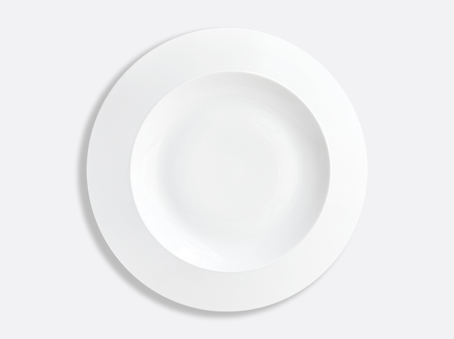 Assiette plate 30,5 cm en porcelaine de la collection Conti Bernardaud