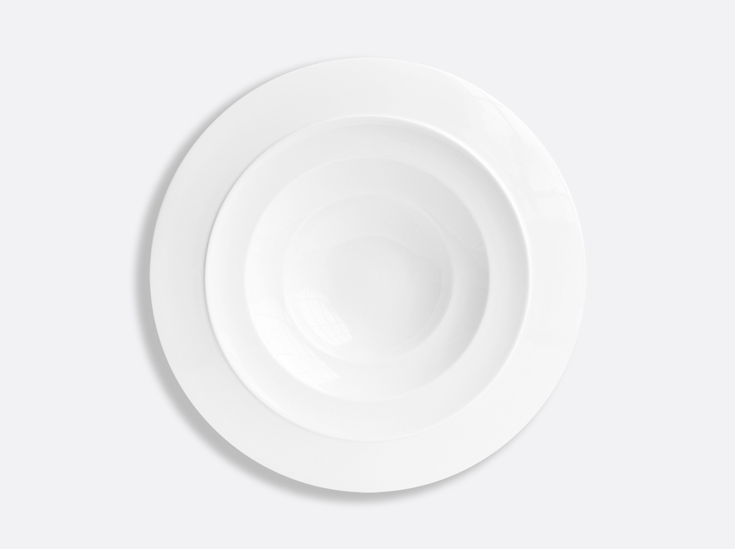 Assiette creuse à aile 27,5 cm en porcelaine de la collection Conti Bernardaud