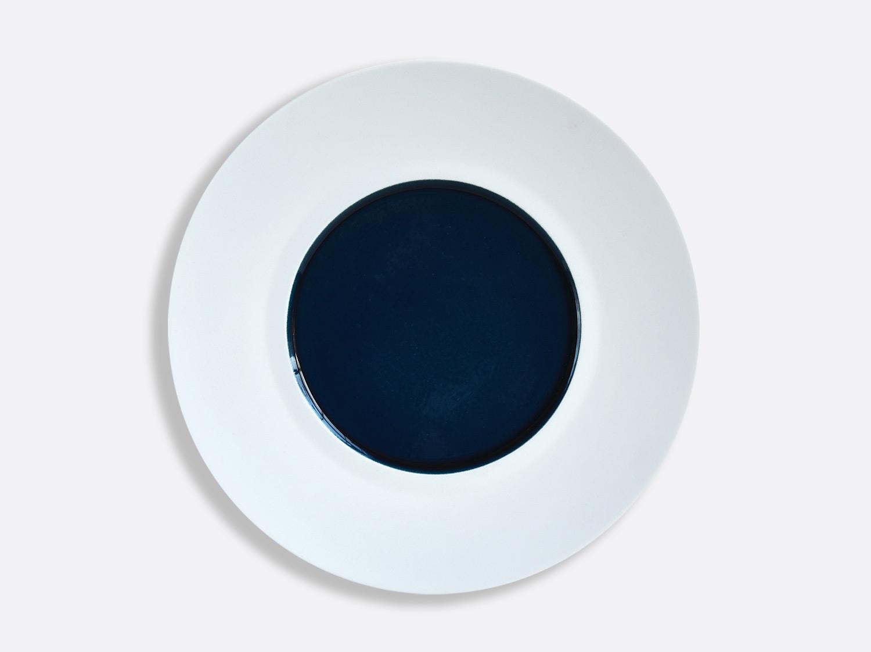 Assiette Shogun Bleu Nuit 29,5 cm en porcelaine de la collection Bleu nuit Bernardaud