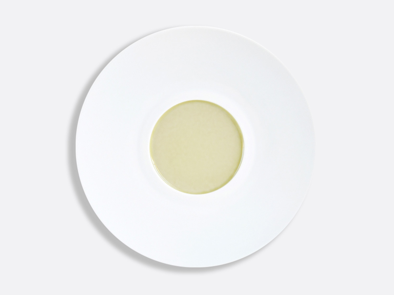 China Jaune Paille Shogun plate 29.5 cm of the collection JAUNE PAILLE | Bernardaud