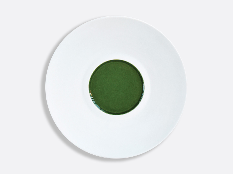 China Vert Chartreux Shogun plate 29.5 cm of the collection VERT CHARTREUX   Bernardaud