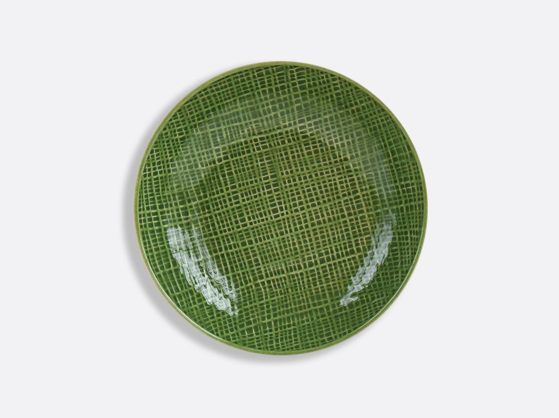Assiette creuse calotte Vert Chartreux 19,2 cm en porcelaine de la collection ORGANZA VERT CHARTREUX Bernardaud