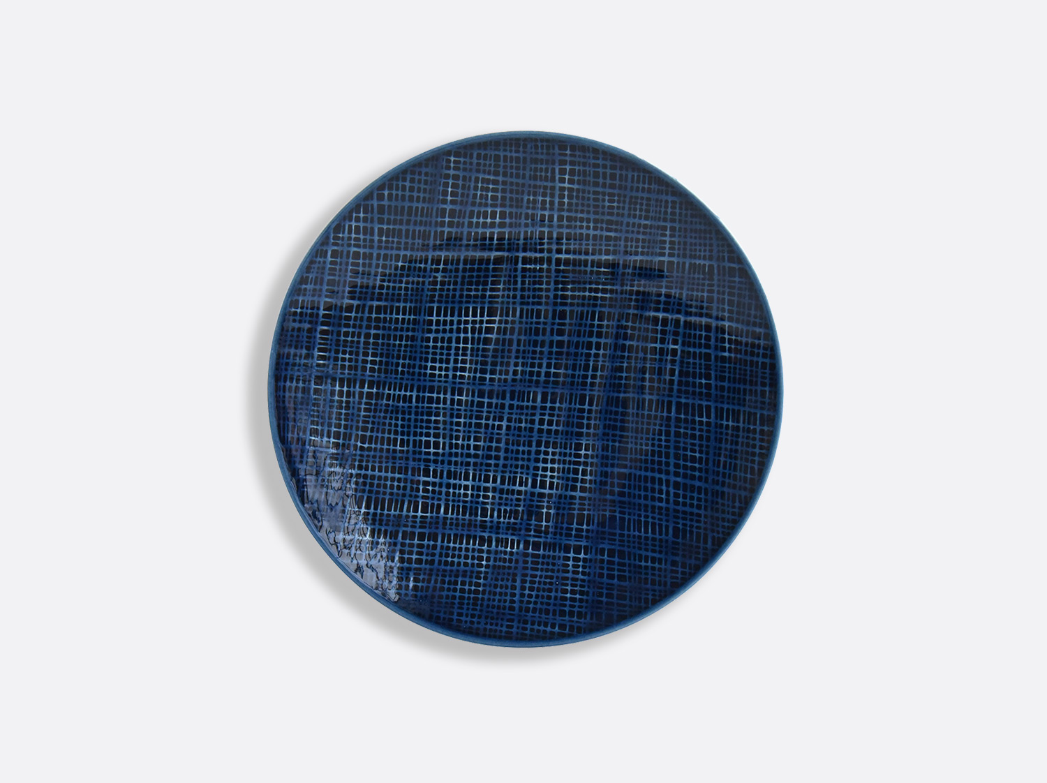 China Bleu Jean plate 16 cm of the collection ORGANZA BLEU JEANS | Bernardaud