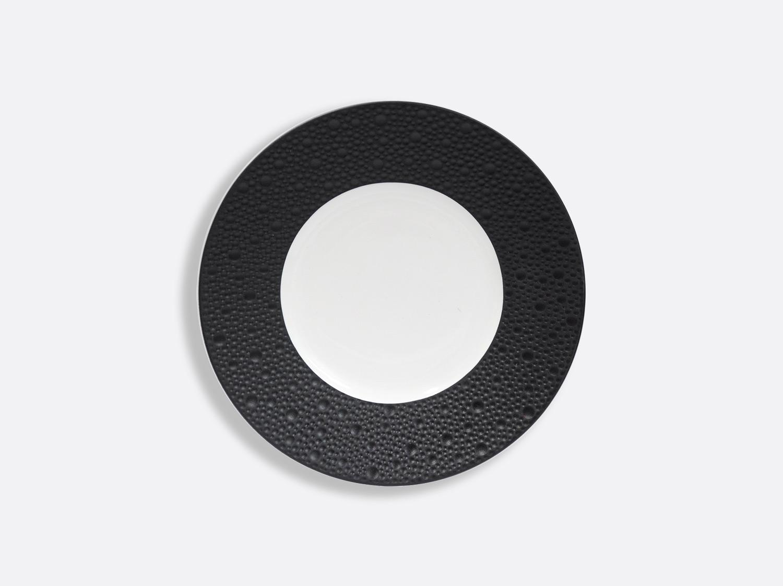 Assiettes 16 cm - Écume Noir en porcelaine de la collection Ecume Noir Bernardaud