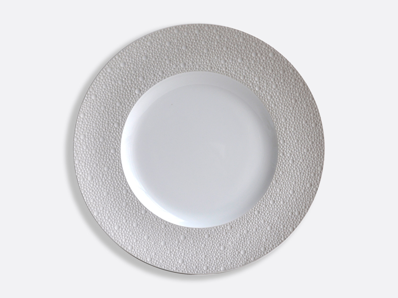 Assiettes 31,5 cm - Écume Gris en porcelaine de la collection Ecume gris Bernardaud