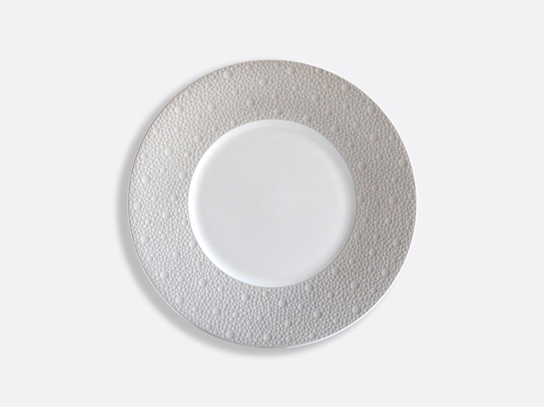 Assiettes 21 cm - Écume Gris en porcelaine de la collection Ecume gris Bernardaud