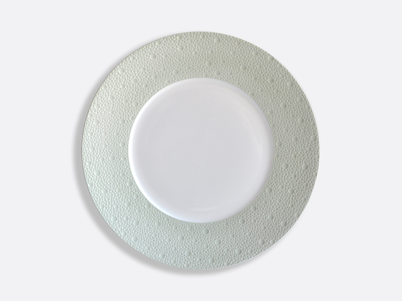 Assiettes 26 cm - Écume Jade en porcelaine de la collection Ecume jade Bernardaud