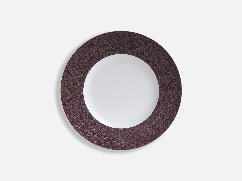 Assiettes 16 cm - Écume Prune en porcelaine de la collection Ecume Prune Bernardaud