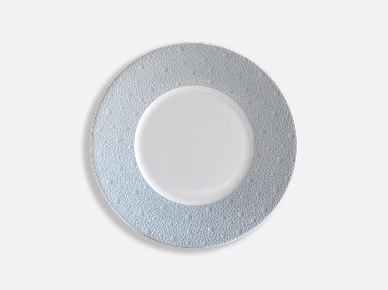 Assiettes 21 cm - Écume Ciel en porcelaine de la collection Ecume ciel Bernardaud