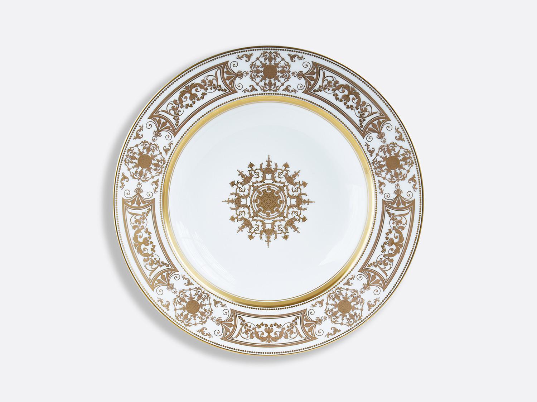 Assiette creuse à aile 22,5 cm en porcelaine de la collection Aux Rois Or Bernardaud