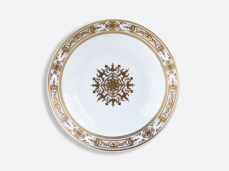 Assiette creuse 19 cm en porcelaine de la collection Aux Rois Or Bernardaud