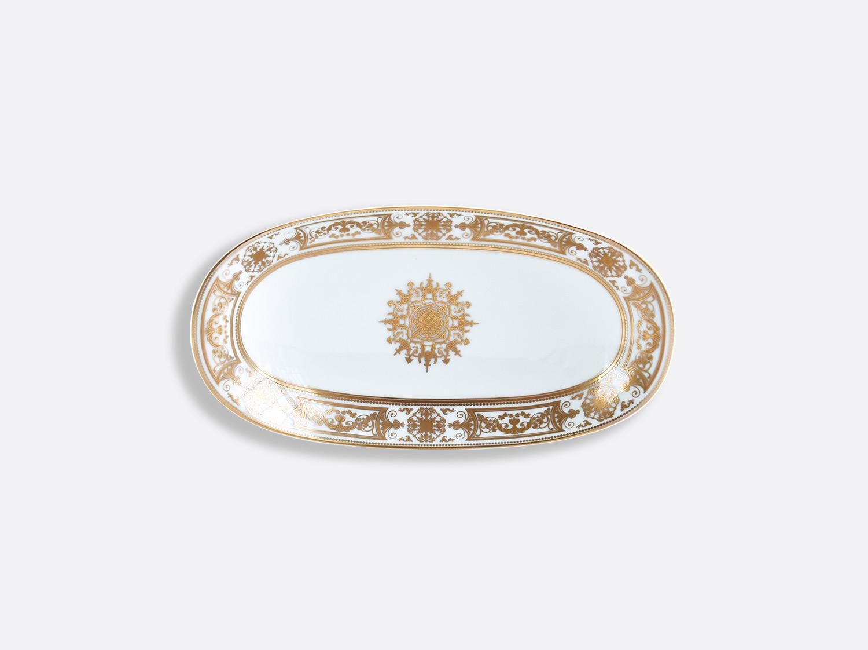Ravier 23 x 12 cm en porcelaine de la collection Aux Rois Or Bernardaud