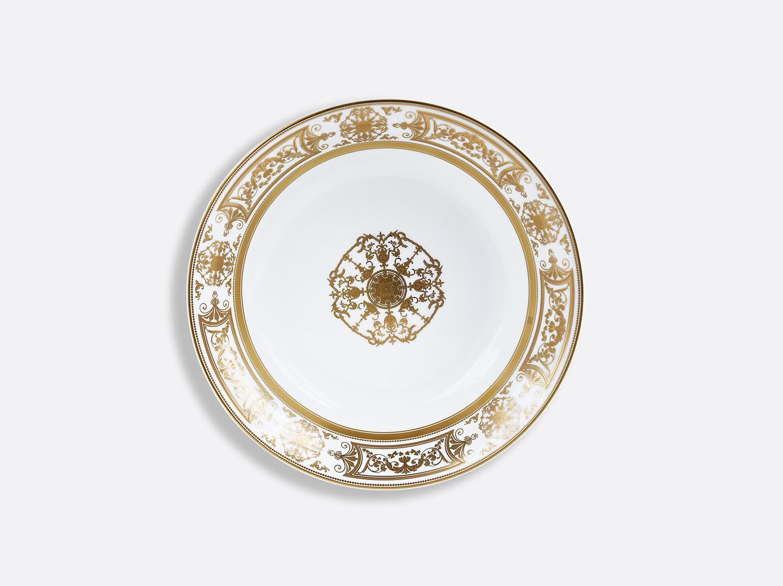 Compotier creux 24 cm 80 cl en porcelaine de la collection Aux Rois Or Bernardaud