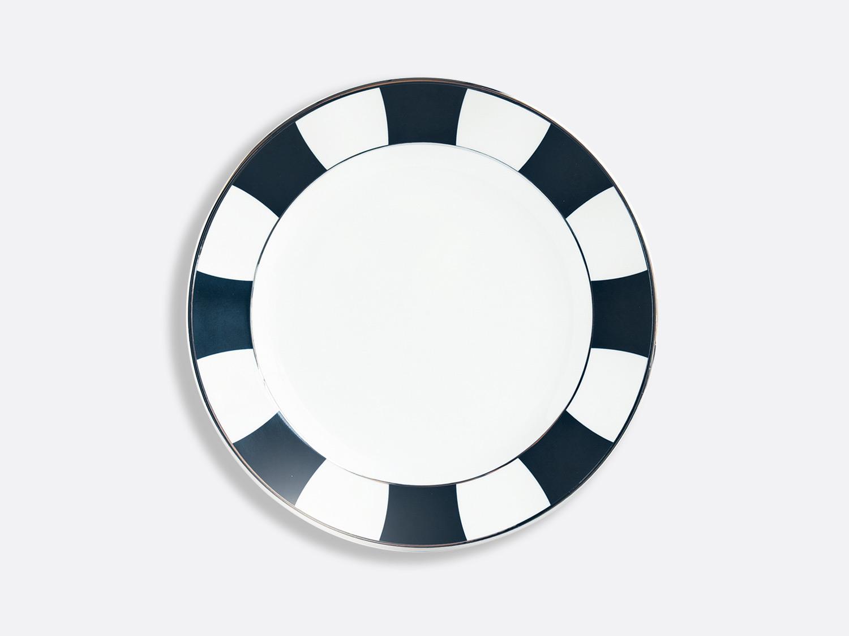 Assiette plate 21 cm en porcelaine de la collection Galerie Royale Bleu Nuit Bernardaud