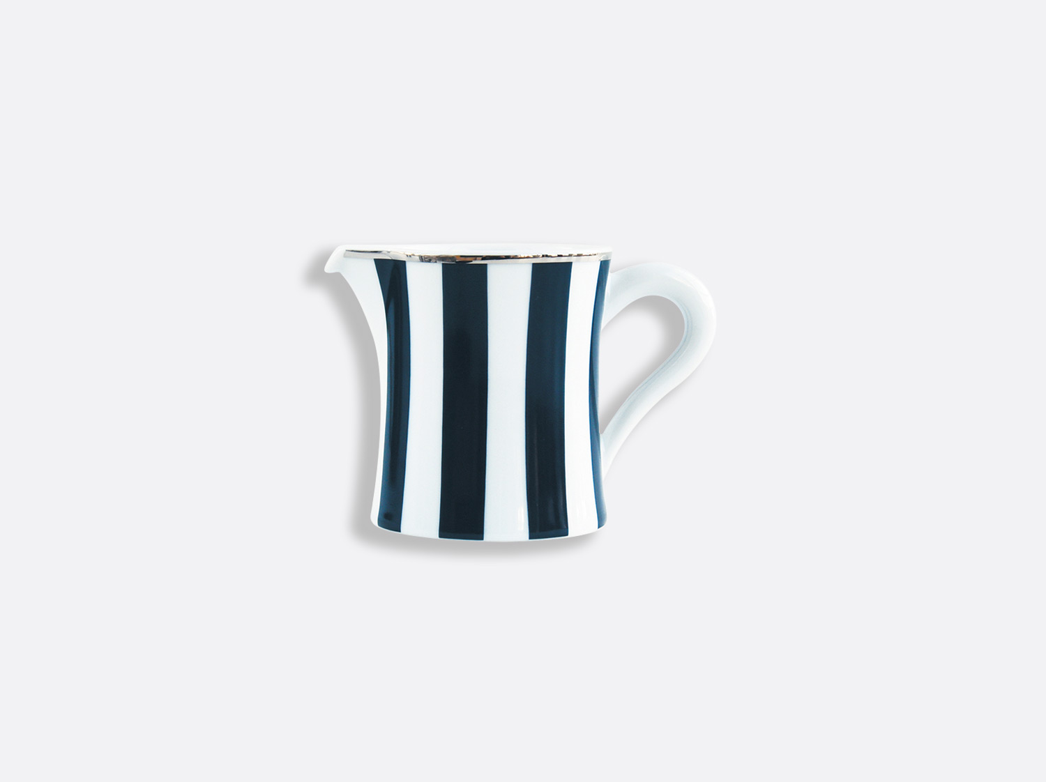 China Creamer 40 cl of the collection Galerie Royale Bleu Nuit | Bernardaud