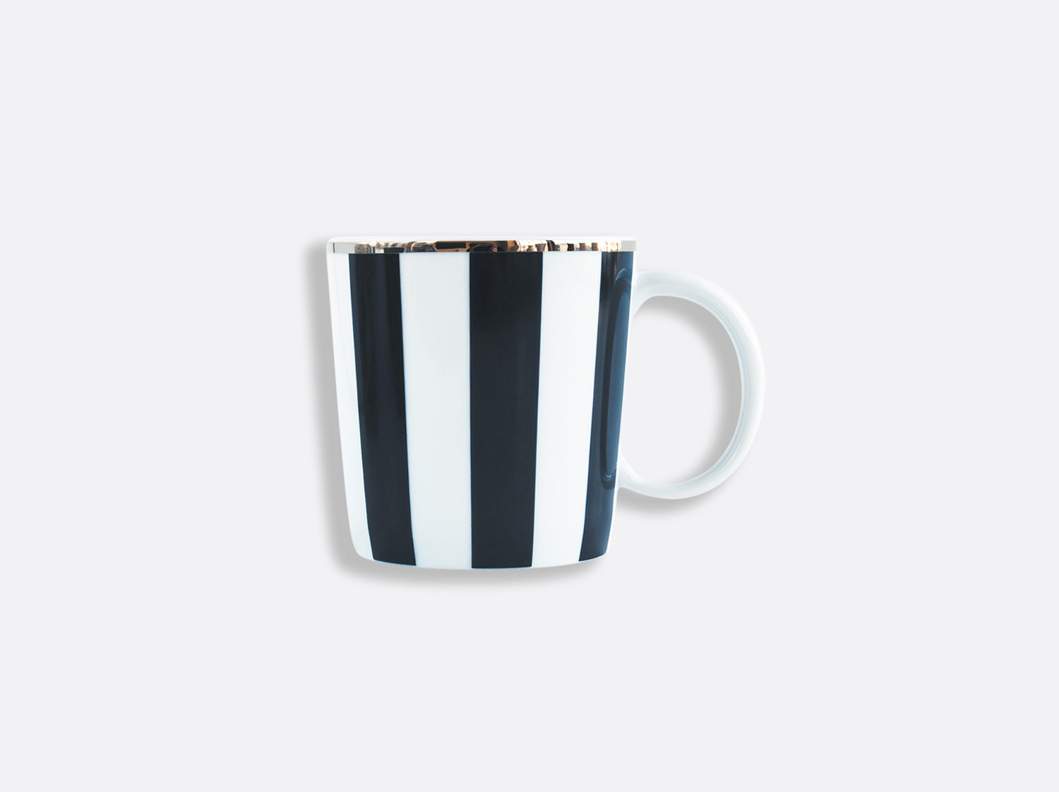 Mug 20 cl en porcelaine de la collection Galerie Royale Bleu Nuit Bernardaud