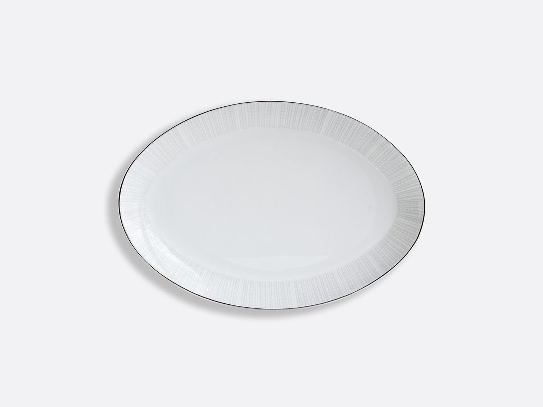 Plat ovale 33 cm en porcelaine de la collection Silva Bernardaud