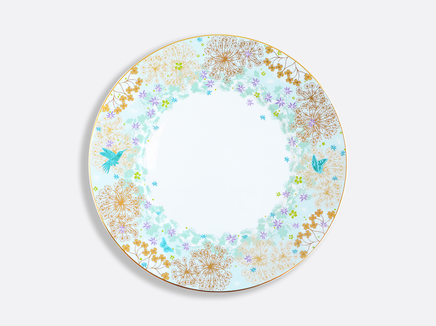 China Dinner plate 26 cm of the collection FÉERIE - MICHAËL CAILLOUX | Bernardaud