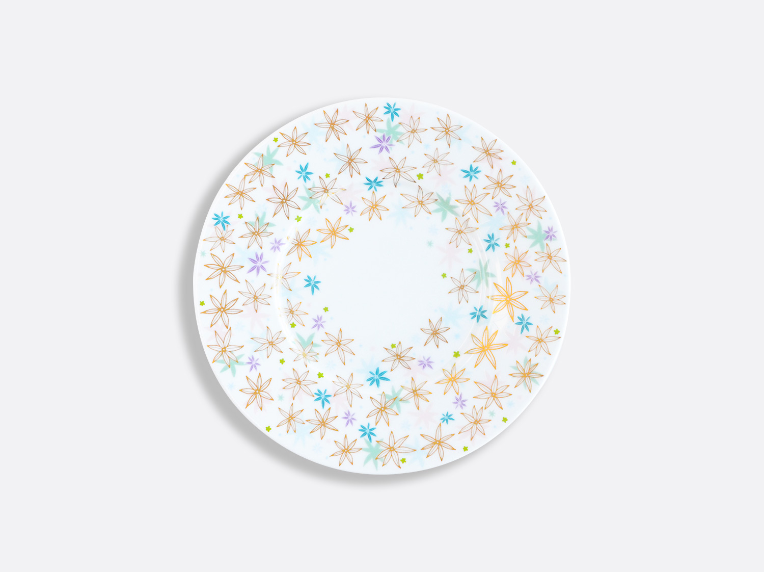 Assiette plate 16 cm en porcelaine de la collection FÉERIE - MICHAËL CAILLOUX Bernardaud