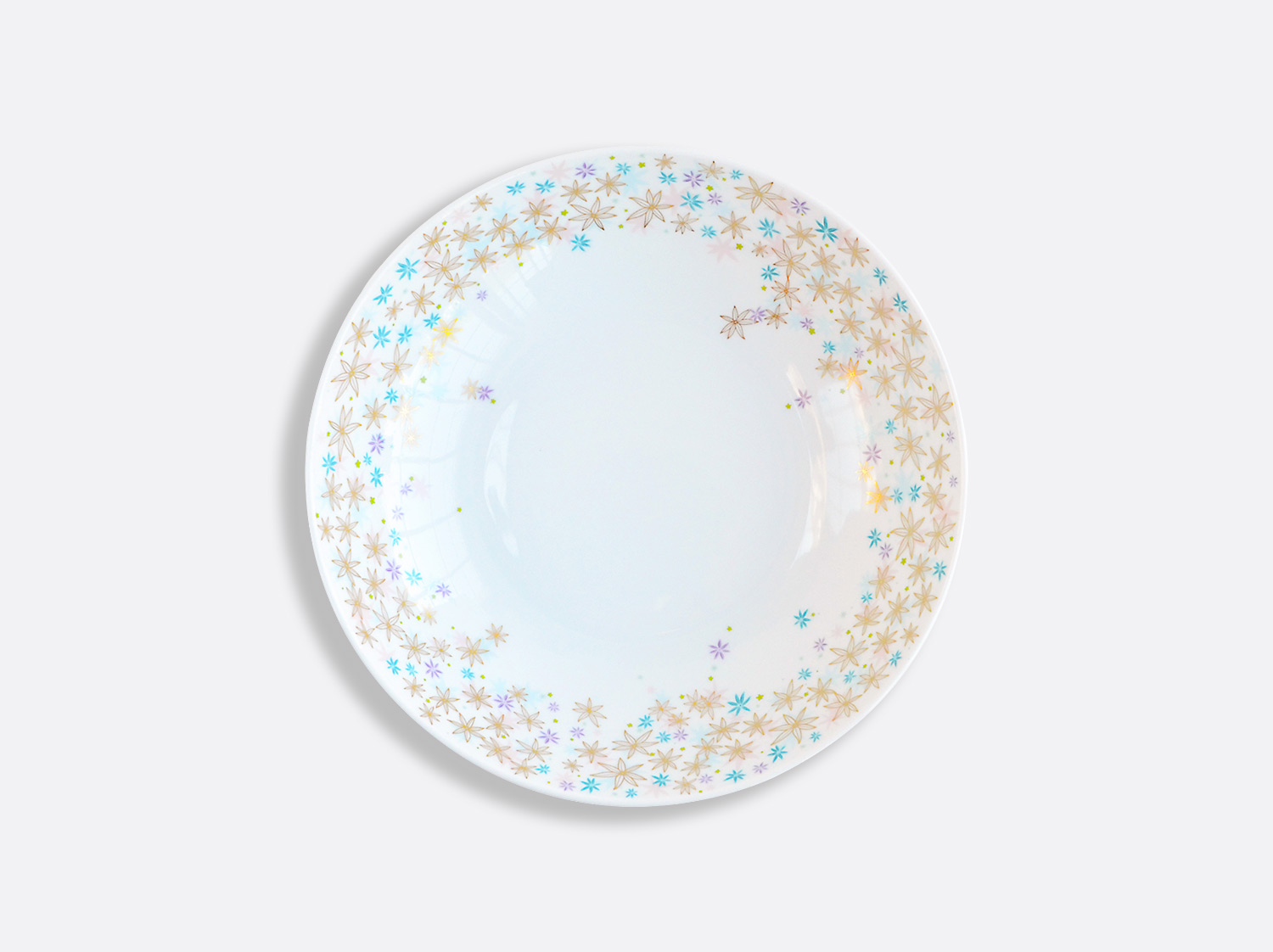 Assiette creuse calotte 19 cm en porcelaine de la collection FÉERIE - MICHAËL CAILLOUX Bernardaud