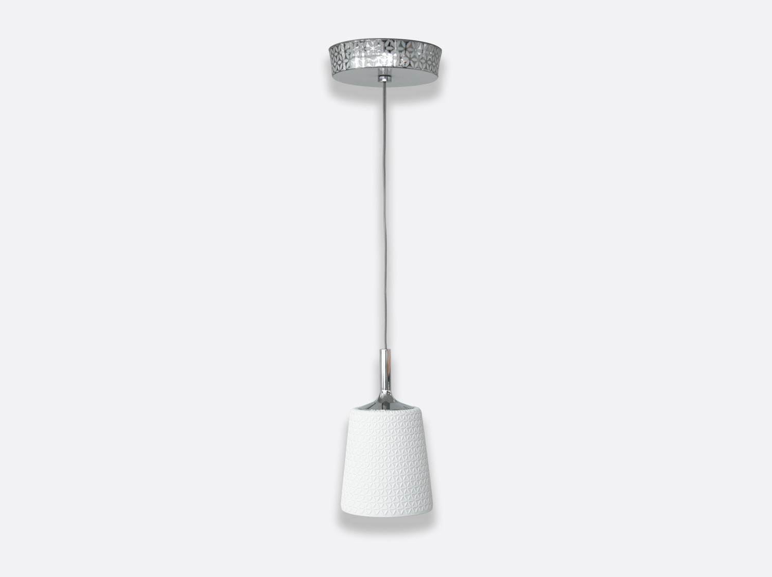 China Pendant light small (D. 13,5 cm H. 23,5 cm) of the collection Marnie | Bernardaud
