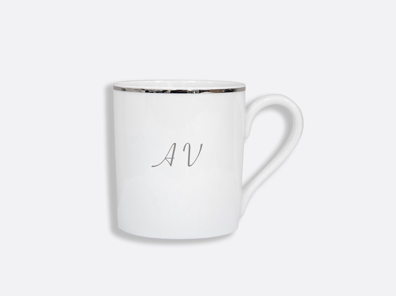 Mug en porcelaine de la collection Cristal - Personnalisation Bernardaud