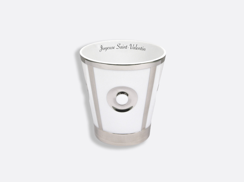 China Platinum Goblet of the collection Eolie Argent - Personnalisation | Bernardaud