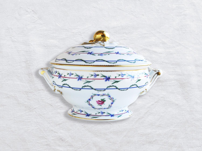 Pot à oille (soupière) 2,2 L en porcelaine de la collection Gobelet du roy Bernardaud