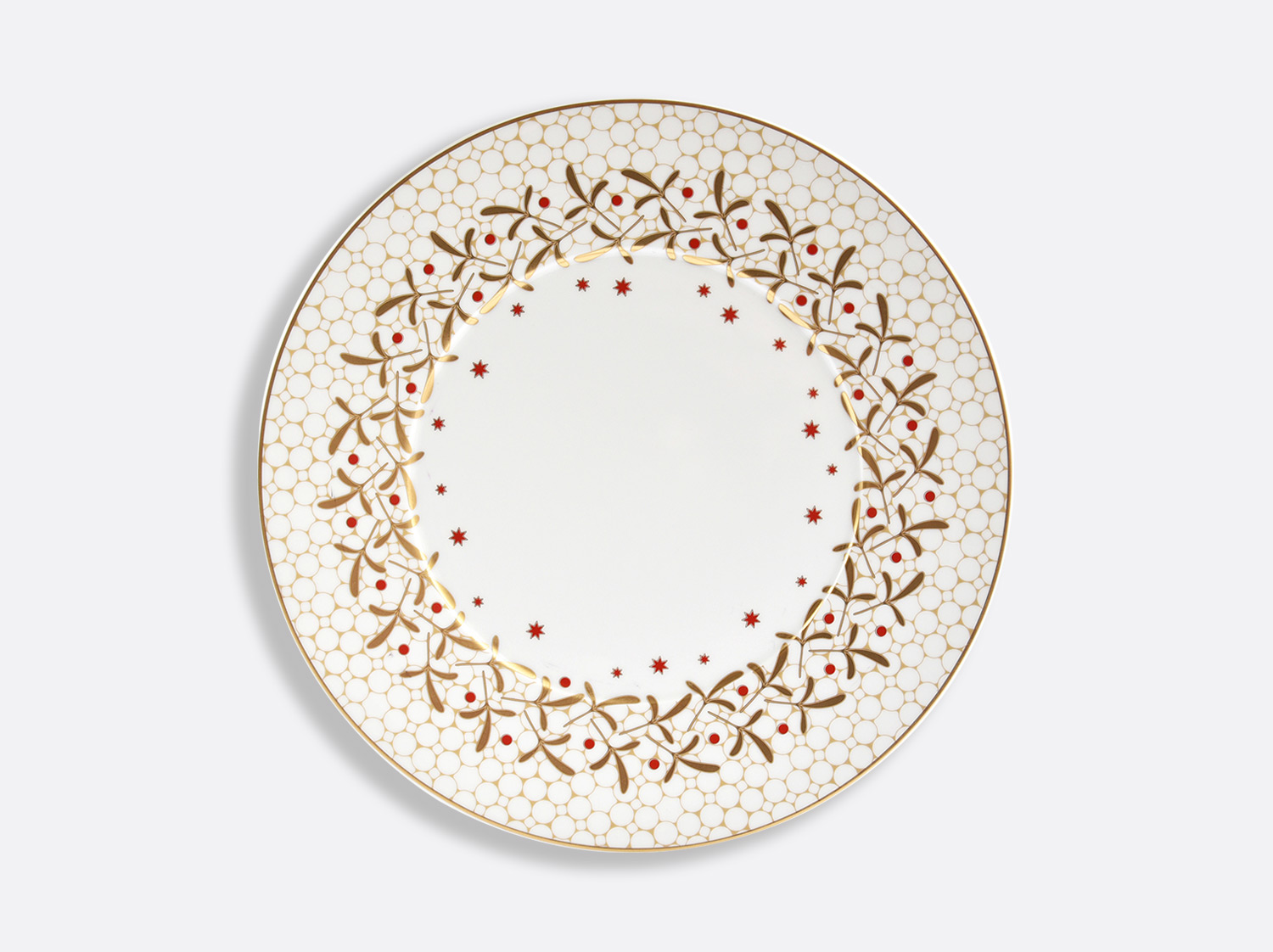 China Dinner plate 10.6'' of the collection Noël | Bernardaud