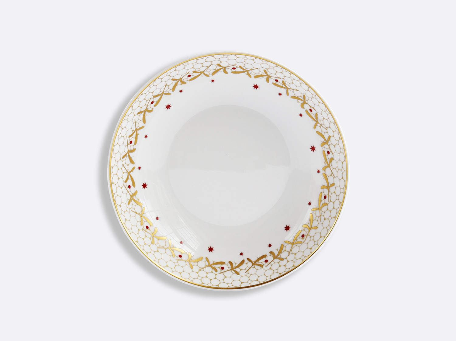 "China Soup plate 7.5"" of the collection Noël 