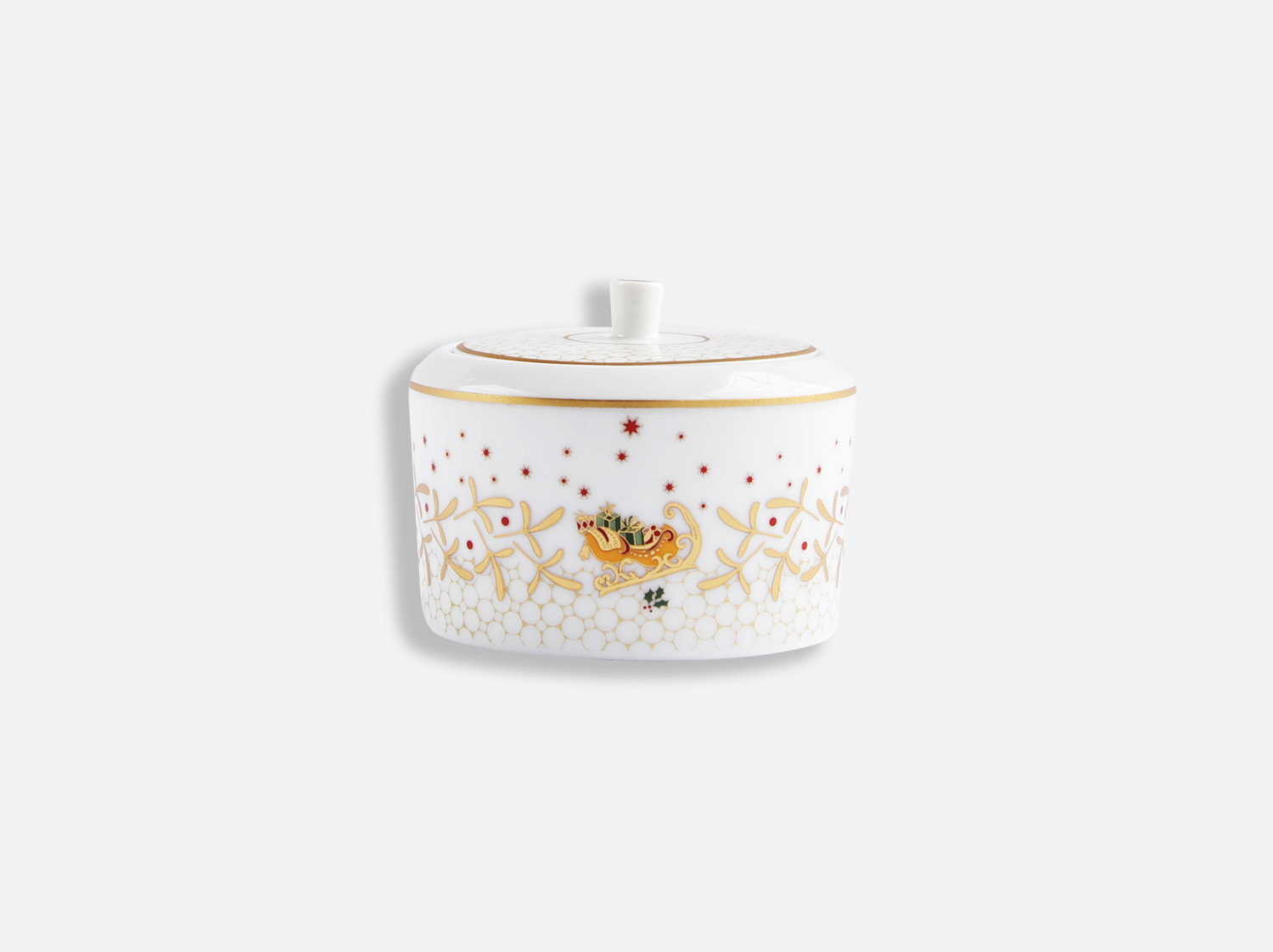 China Sugar bowl 5 oz of the collection Noël | Bernardaud