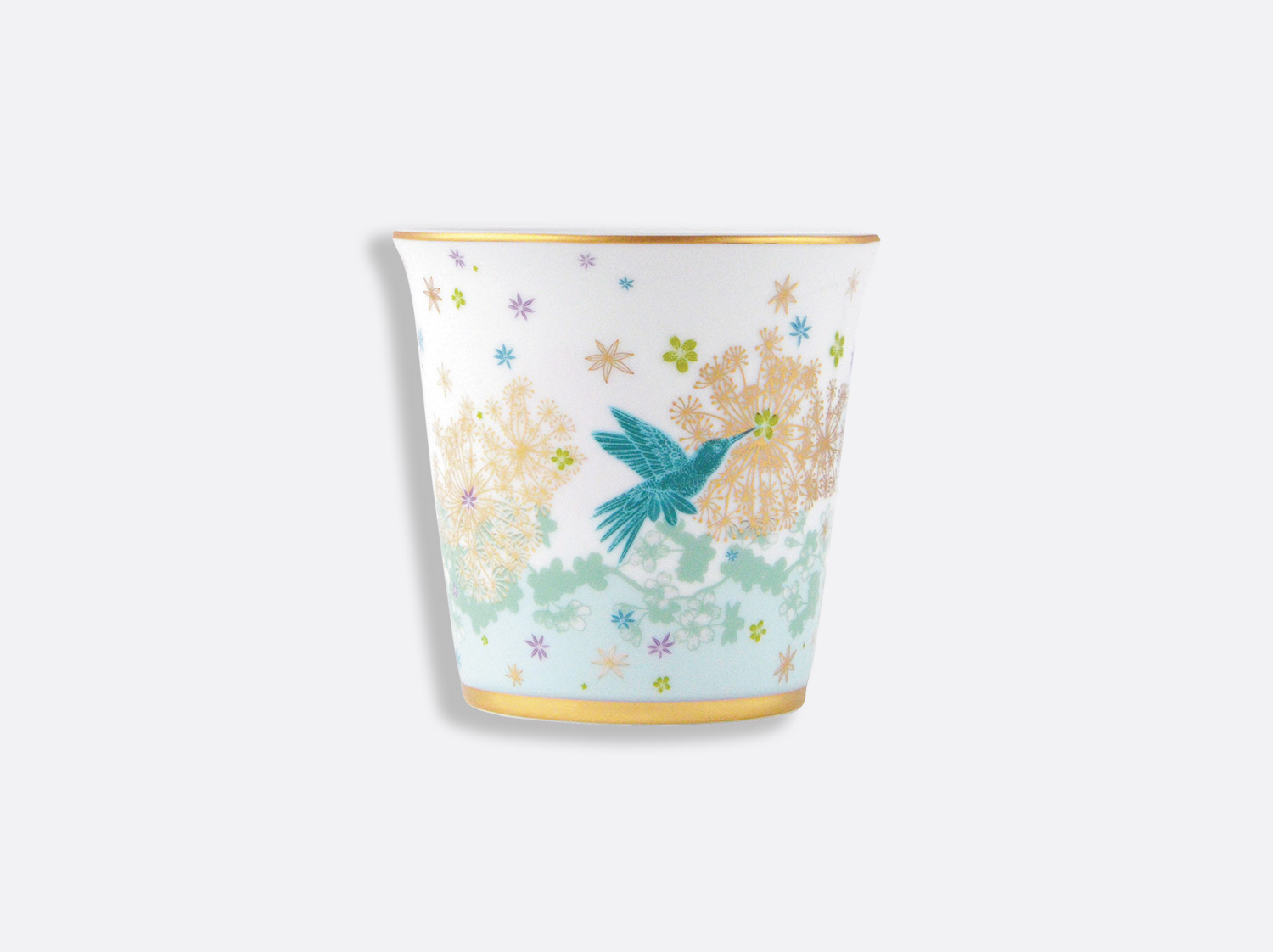 Pot 9 cm + bougie parfumée 200g en porcelaine de la collection FÉERIE - MICHAËL CAILLOUX Bernardaud