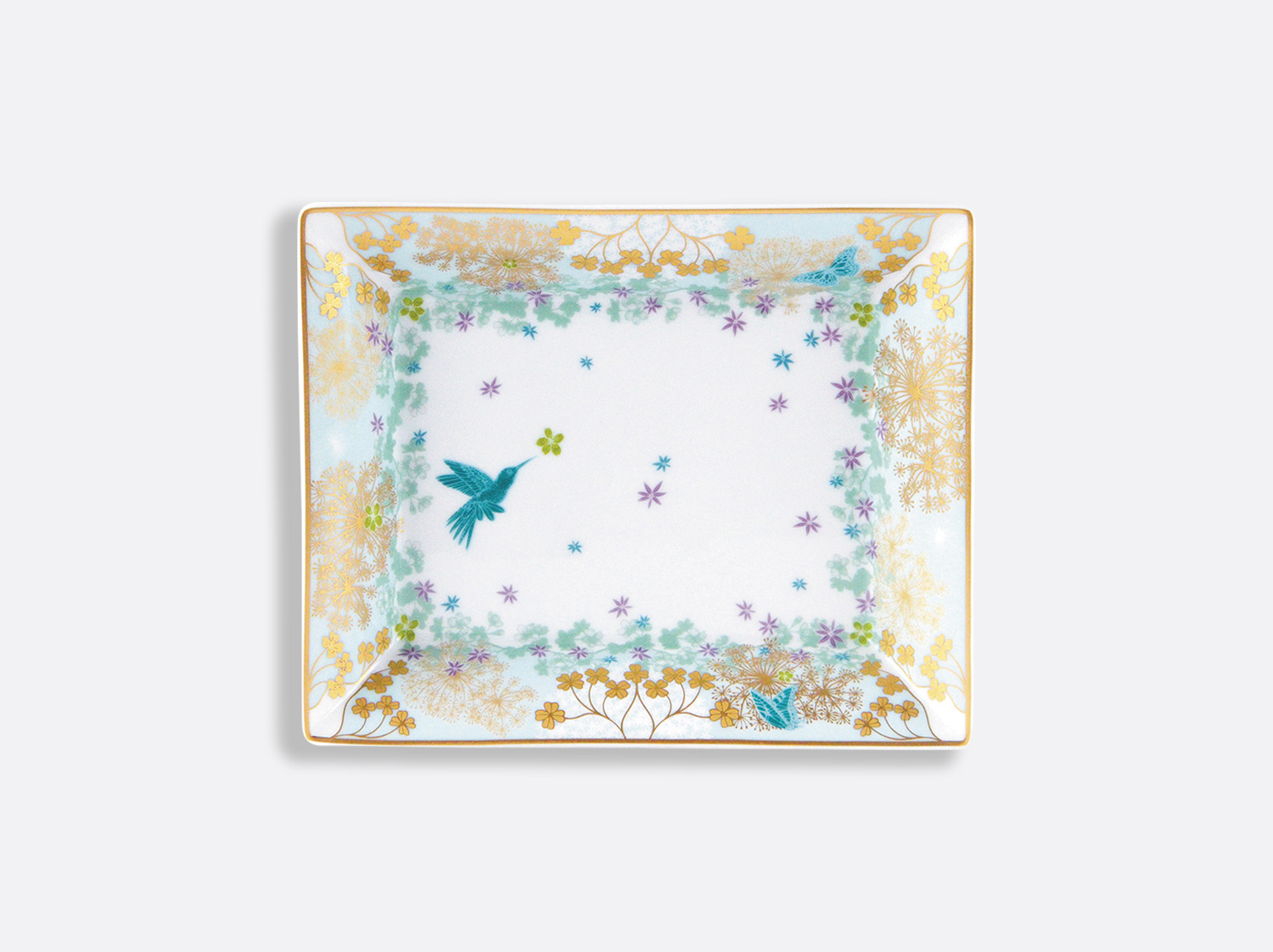 China Valet tray 16 x 20 cm of the collection FÉERIE - MICHAËL CAILLOUX | Bernardaud