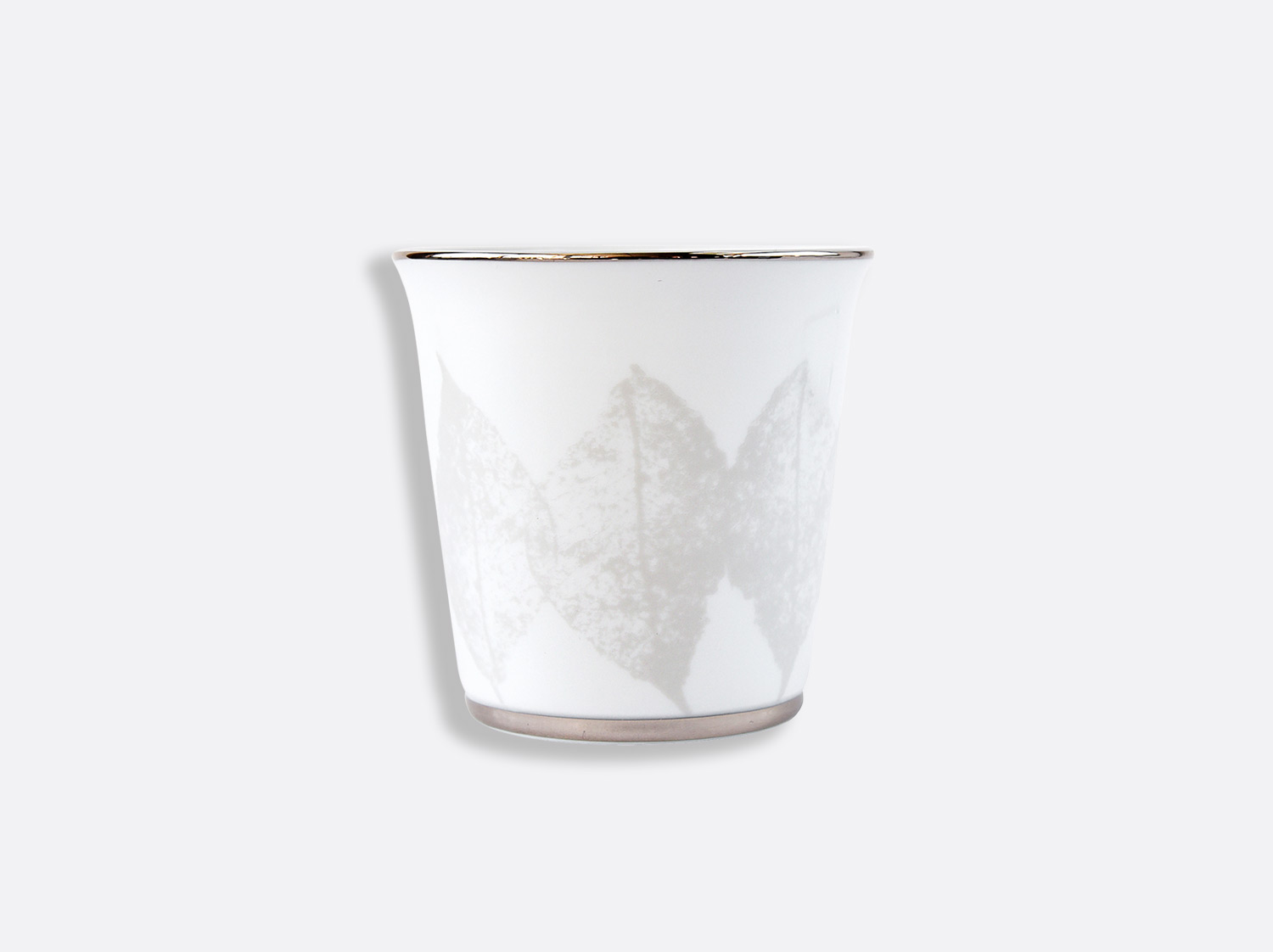Pot 9 cm + bougie parfumée 200g en porcelaine de la collection Silva Bernardaud