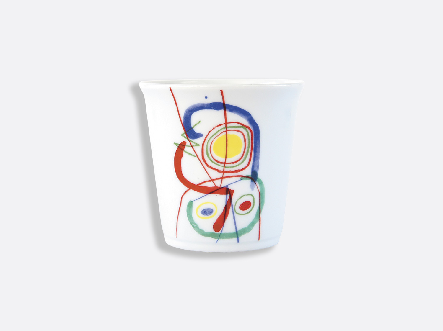 China Tumbler 6 cl of the collection A TOUTE EPREUVE - JOAN MIRO CHILDREN SET | Bernardaud
