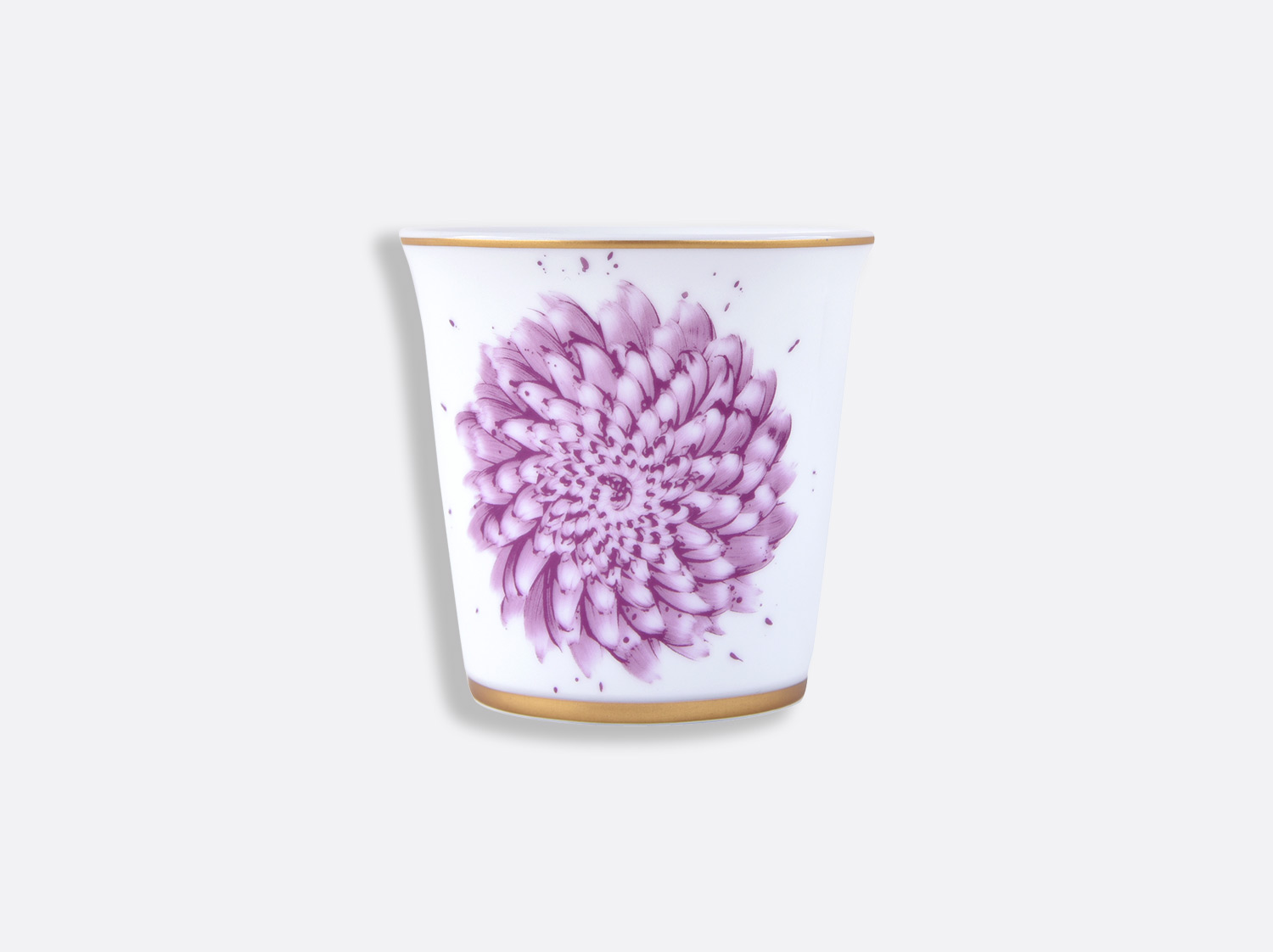 Pot 9 cm + bougie parfumée 200g en porcelaine de la collection IN BLOOM - Zemer Peled Bernardaud