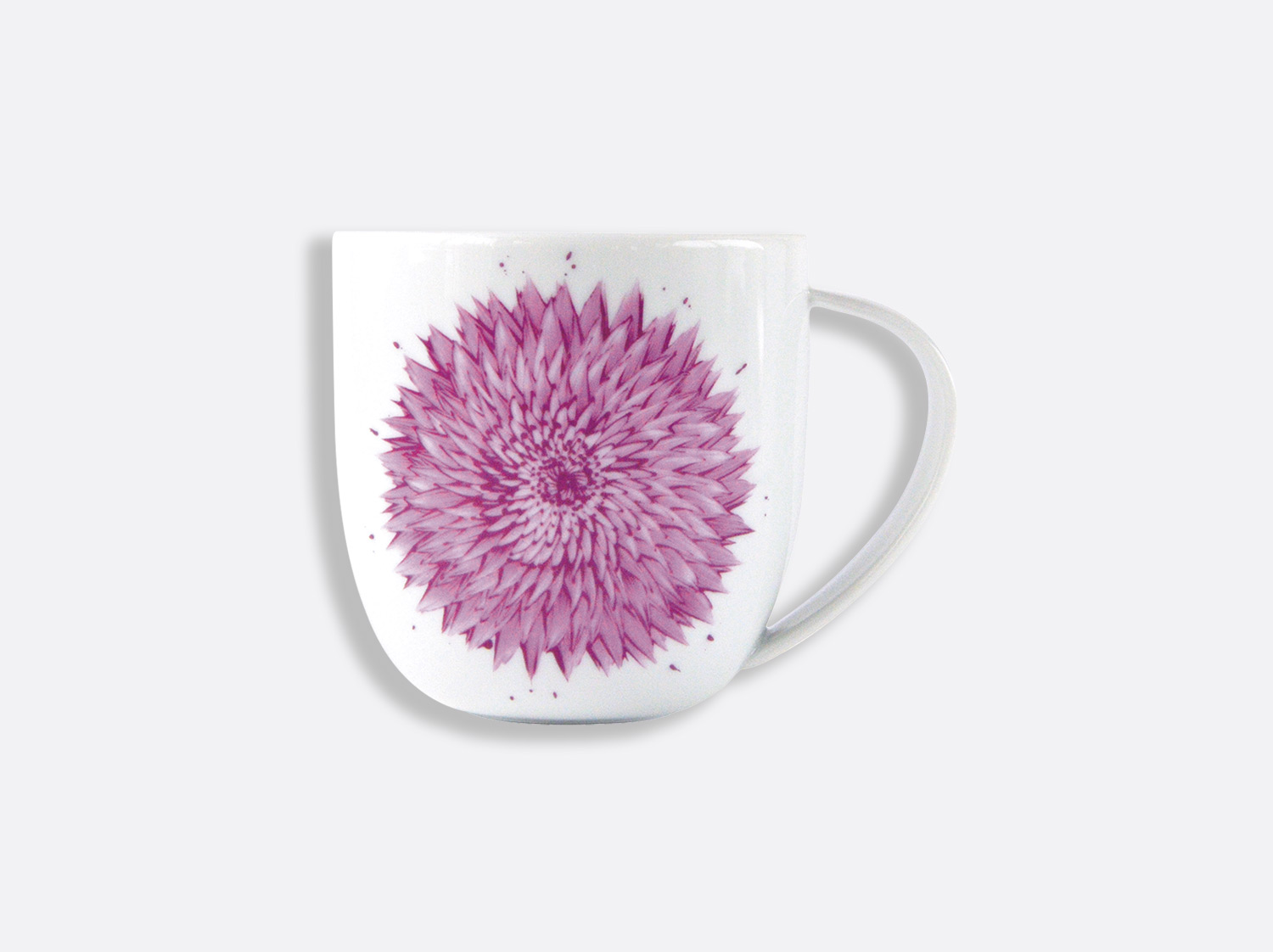 Mug rose 35 cl en porcelaine de la collection In Bloom - rose Bernardaud