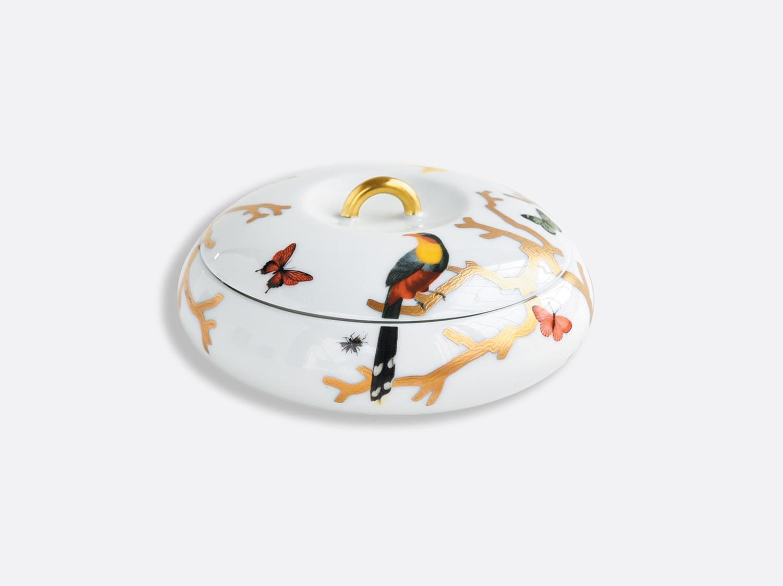 Boîte galet en porcelaine de la collection Aux oiseaux Bernardaud