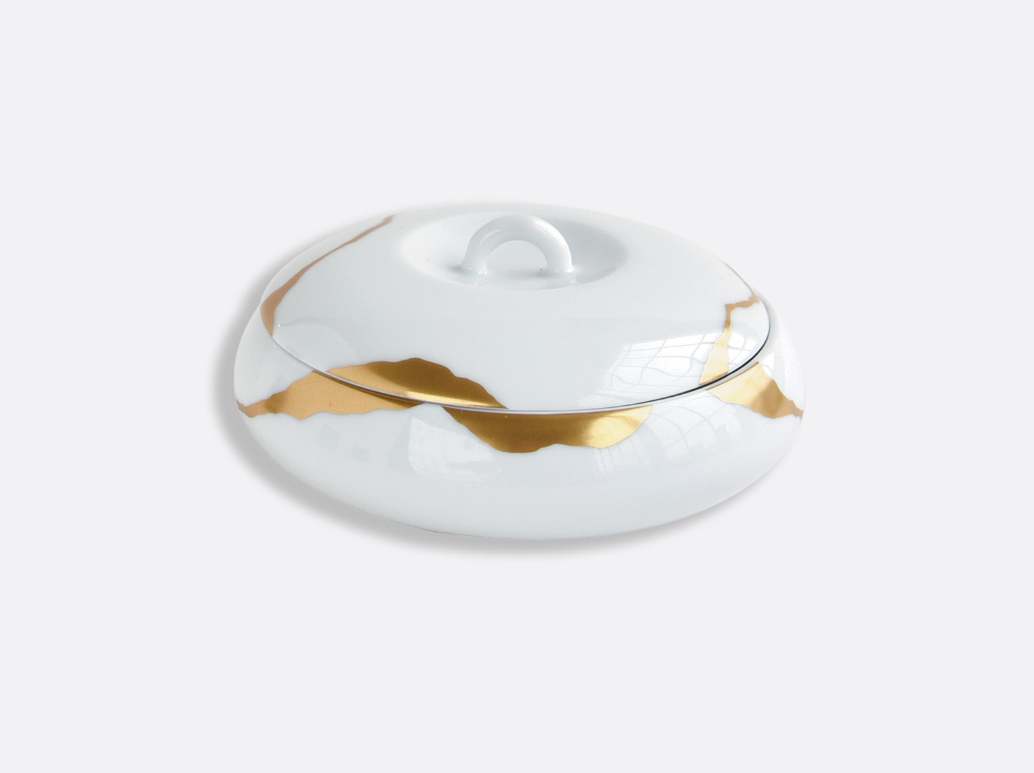 Boîte galet en porcelaine de la collection Kintsugi Bernardaud