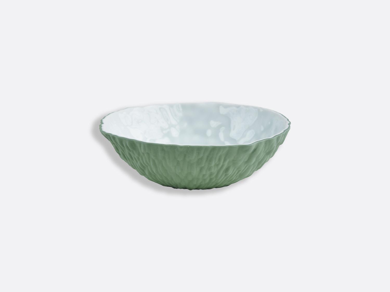 Bol Blanc / Vert Amande 16,5 cm en porcelaine de la collection ECORCE BI-PÂTE BLANC/VERT AMANDE Bernardaud